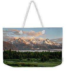 Dawn At Grand Teton National Park Weekender Tote Bag by Brian Harig