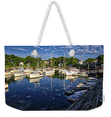 Dawn At Perkins Cove - Maine Weekender Tote Bag