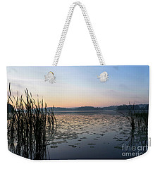 Dawn At The Lake Enajarvi Weekender Tote Bag