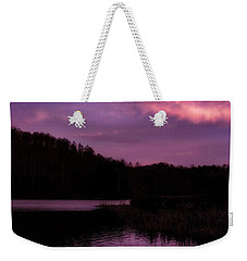 Weekender Tote Bag featuring the photograph Dawn Big Ditch Wildlife Management Area by Thomas R Fletcher