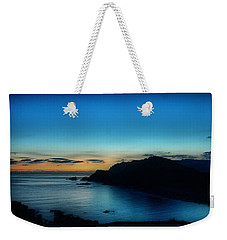 Dawn Blue In Mediterranean Island Of Minorca By Pedro Cardona Weekender Tote Bag