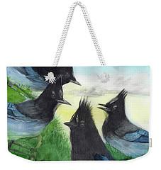 Dawn Chorus Weekender Tote Bag