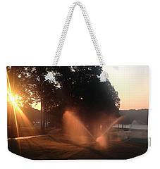 Dawn Golf Course Weekender Tote Bag