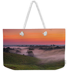 Dawn In Kentucky Weekender Tote Bag by Ulrich Burkhalter