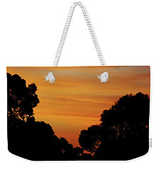 Dawn In The Forest Weekender Tote Bag by Mark Blauhoefer