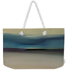 Weekender Tote Bag featuring the painting Dawn by Michelle Abrams