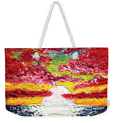 Dawn Of A New Day Seascape Sunrise Painting 141a Weekender Tote Bag