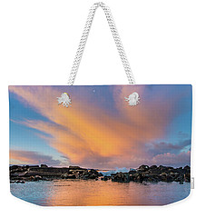 Dawn Of Cloud At North Jetty Weekender Tote Bag