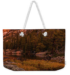 Weekender Tote Bag featuring the photograph Dawn Of Dreams Triptych Right by Dustin LeFevre