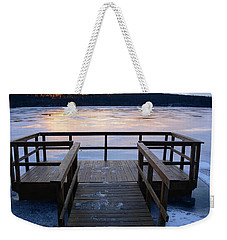 Dawn Of Ice Weekender Tote Bag