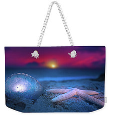 Weekender Tote Bag featuring the photograph Dawn Of The Warriors by Mark Andrew Thomas