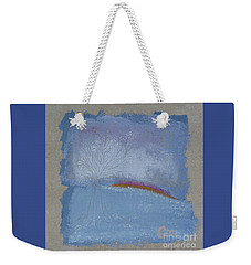 Dawn Of Winter Weekender Tote Bag