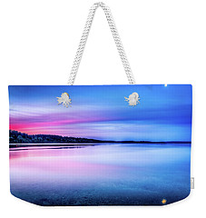 Weekender Tote Bag featuring the photograph Dawn On Bainbridge Island by Spencer McDonald