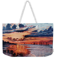 Dawn On Crystal Beach Weekender Tote Bag