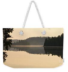 Dawn On Ottertrack Lake Weekender Tote Bag