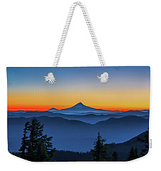 Dawn On The Mountain Weekender Tote Bag
