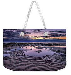 Weekender Tote Bag featuring the photograph Dawn On Wells Beach by Rick Berk