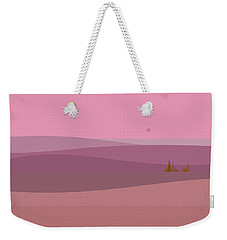 Dawn Pink Sunrise Weekender Tote Bag