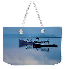 Dawn Rising Over The Harbor Weekender Tote Bag by Jeff Folger