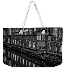 Weekender Tote Bag featuring the photograph Dawn River Reflections #2 - Slovenia by Stuart Litoff