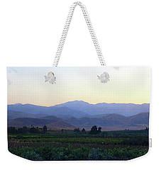 Dawn View Of The Sierras Weekender Tote Bag by Timothy Bulone