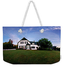 Weekender Tote Bag featuring the photograph Dawns First Light At Green Gables by Chris Bordeleau