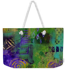 Weekender Tote Bag featuring the painting Day 22...30 In 30 Challenge by Suzzanna Frank