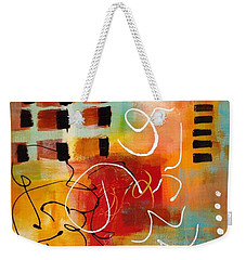 Weekender Tote Bag featuring the painting Day 3...30 In 30 Challenge by Suzzanna Frank
