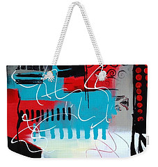 Weekender Tote Bag featuring the painting Day 7...30 In 30 Challenge  by Suzzanna Frank