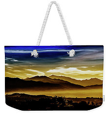 Weekender Tote Bag featuring the photograph Day Break 2a1 by Joseph Hollingsworth