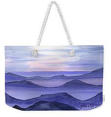 Weekender Tote Bag featuring the painting Day Break by Yolanda Koh