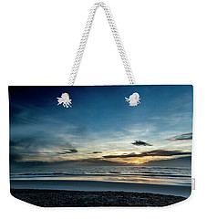 Weekender Tote Bag featuring the photograph Day Breaker by Eric Christopher Jackson