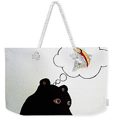 Weekender Tote Bag featuring the photograph Day Dreaming Of Lunch by Joseph Frank Baraba
