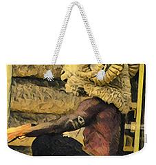 Day In Soho Weekender Tote Bag