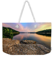 Day Light On The Bay Weekender Tote Bag