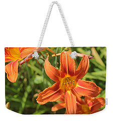Day Lilies In The Wild 2 Weekender Tote Bag