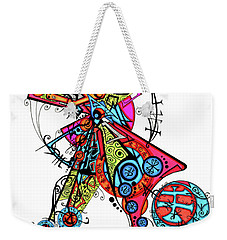 Day Of The Dead Cross Weekender Tote Bag