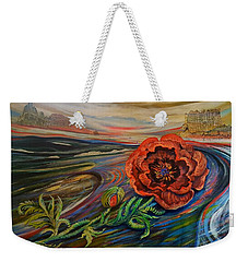 Day Of The Poppy Weekender Tote Bag