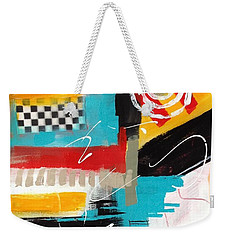 Weekender Tote Bag featuring the painting Day Six...30 In 30 Challenge  by Suzzanna Frank