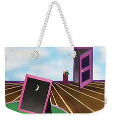Weekender Tote Bag featuring the painting Day by Thomas Blood