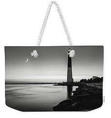 Daybreak At Barnegat, Black And White Weekender Tote Bag by Eduard Moldoveanu