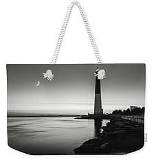 Daybreak At Barnegat, Black And White Weekender Tote Bag