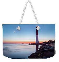 Daybreak At Barnegat Weekender Tote Bag