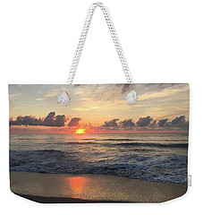 Daybreak At Cocoa Beach Weekender Tote Bag