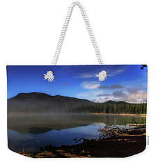 Weekender Tote Bag featuring the photograph Daybreak At Sparks Lake by Cat Connor