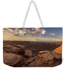 Weekender Tote Bag featuring the photograph Daybreak  by Dustin LeFevre