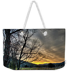 Weekender Tote Bag featuring the photograph Daybreak In The Cove by Douglas Stucky