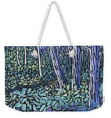 Weekender Tote Bag featuring the painting Daybreak by Joanne Smoley