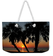 Weekender Tote Bag featuring the photograph Daybreak by Judy Vincent