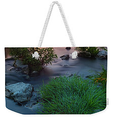 Daybreak Over The Old Riverbed Weekender Tote Bag